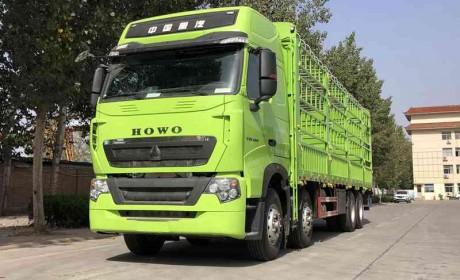 我们熟悉的豪沃T7也出高端载货车了,自动挡480马力,跑高效真实用