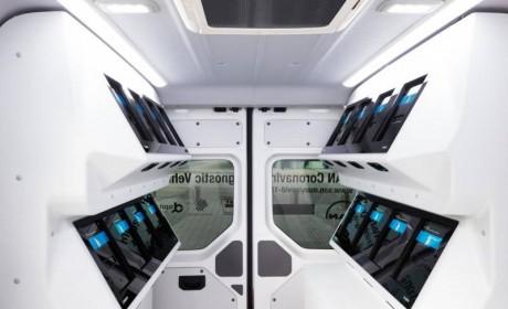 曼恩移动核酸检测车:1小时内即可获得检测结果