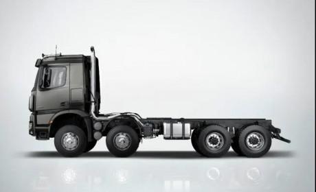 老司机的新选择:奔驰自动挡泵车底盘阿洛斯(Arocs)