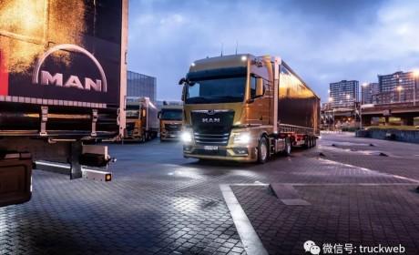 曼恩全新TGX卡车荣获2021国际年度卡车大奖