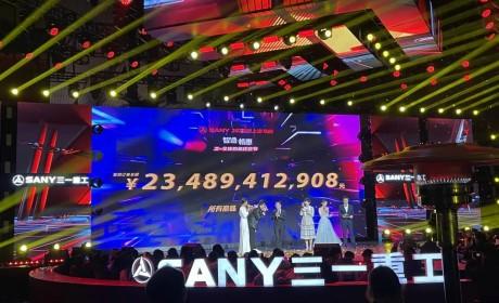 2小时卖了235亿!三一线上宝马展上演全球购机狂欢