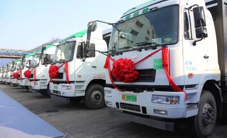 助力江苏绿色港口建设,华菱新能源重卡在南京港投入使用