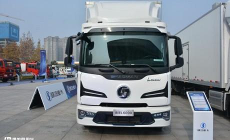 大功率电机无续航焦虑,陕汽推出新一代增程式电动载货车,欧卡风十足