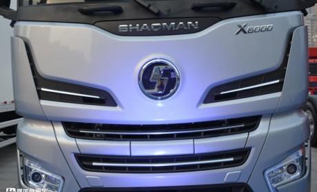 大气瓶能跑快递,15升潍柴发动机,德龙X6000燃气重卡配置真高端