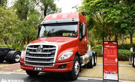 玉柴动力的柳汽乘龙T5卡车亮相,自重轻还是燃气版,性价比真高