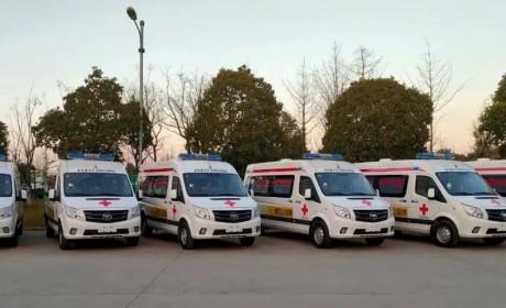 10辆图雅诺特专负压救护车支援河北抗疫