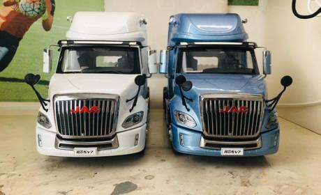 细节到位辨识度高,格尔发V7长头卡车模型评测来了,造型真美