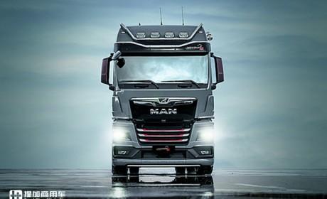 与奥迪RS性能版车型同框,德国MAN发布TGX限量版S系列车型