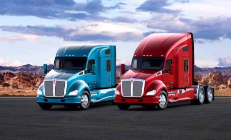 肯沃斯T680也迎来新一代车型,再带您领略下美式长头旗舰卡车全新魅力