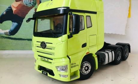 国产卡车模型做工最好的产品,解放J7模型实拍评测