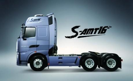 自动挡时代丨中国重汽第五代S-AMT 16挡变速箱,来了
