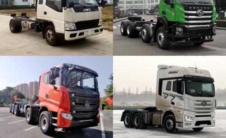 有哪些卡车新品即将到来?工信部第342批汽车新品公示之N类货车简析