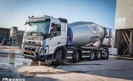 新一代沃尔沃FMX工程车实力真强,这配置比国产高端牵引车都豪华