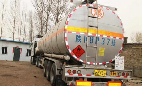 榆林荣通运输:汕德卡燃气车动力足,真节气