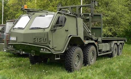 动力超过900马力,车货总重高达77吨,芬兰西苏Polar混动卡车科普