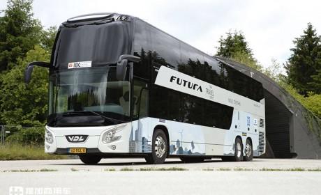 客容量接近百人,最具颜值的欧系双层豪华大巴——荷兰VDL Futura FDD2小科普