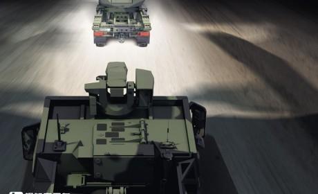 重新设计驾驶室,底盘性能更强悍,莱茵金属曼恩新一代HX军用卡车来袭