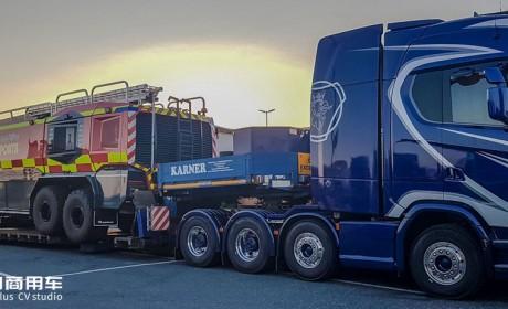 新一代斯堪尼亚在大件运输市场越来越被认可,带您见识奥地利KARNER公司的S730