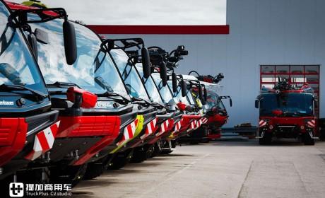 迪拜国际机场订购的卢森宝亚美洲豹消防车实拍,带您好好看看机场主站消防车的强悍配置