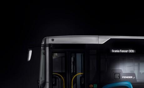 多种动力可选,车身与海格联合开发,斯堪尼亚发布全新城市客车Fencer