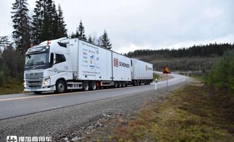 """卡车司机减少,更节能减排,欧洲多国开始探索""""双挂车""""公路运输"""