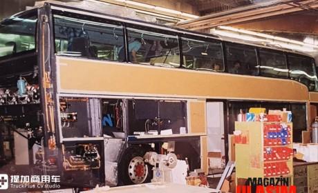 仅生产一台,带您看看奔驰O404 DD双层大巴的传奇一生