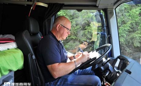 国内几乎见不到的卡车,专为运原木打造,这台雷诺C520配置真独特