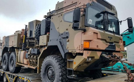 莱茵金属曼恩HX军车的最大客户,澳大利亚订购的6X6 HX42M清障车实拍