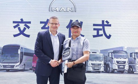 全新TGX于亚洲冷链展交付,曼恩赋能冷链物流业高效发展