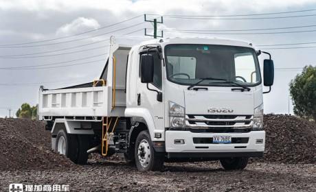 五十铃针对澳大利亚市场推出的FSR自卸车,270马力卖近70万人民币,还是最便宜车型?