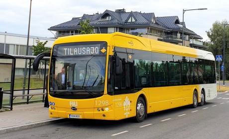 开辟欧洲新市场 比亚迪全新15米纯电动大巴首次交付芬兰