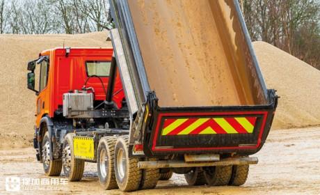 斯堪尼亚英国官方测试P系XT自卸车,超强性能碾压其他欧卡同级别车型?