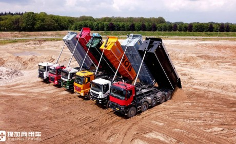 Bigtruck横评6款欧卡主流自卸车,先带您看看斯堪尼亚、奔驰和曼三强的较量
