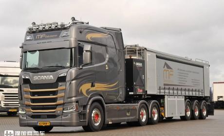 驾驶室加长1米,内饰超豪华,荷兰卡友的这台斯堪尼亚S730改装的真牛