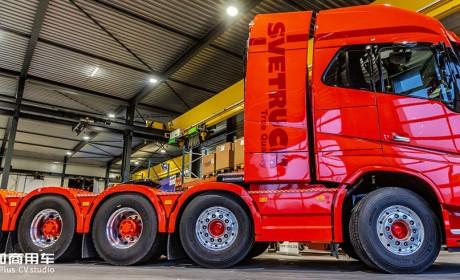 记录一辆5轴沃尔沃FH16的诞生过程,带您见识欧洲卡车改装文化