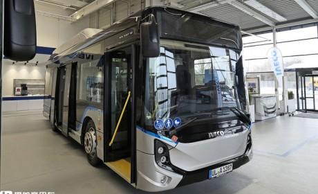 依维柯公交车见过吗?带您好好的认识下依维柯E-WAY电动公交