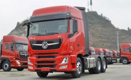 600马力提速5%省油3% 东风天龙KX王者版传承安全可靠