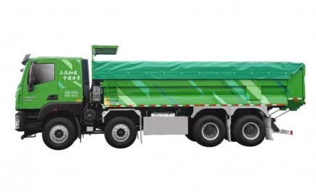 红岩杰狮H6自卸车 | 渣土运输的正确打开方式