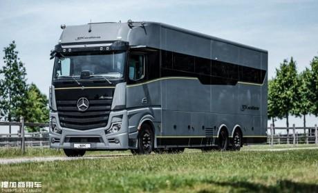 造价超1500万,奔驰Actros限量卡车底盘打造,带您见识一款超豪华A型房车
