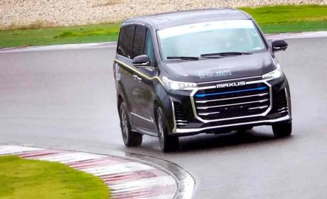 """全球首款高端氢燃料电池MPV——EUNIQ 7""""氢""""装亮相CTCC赛场!"""
