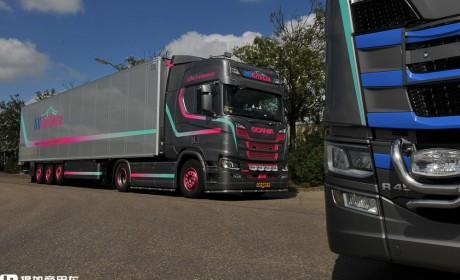 欧洲女性卡车司机越来越多,她们生存状况如何?来自荷兰的Desiree Bron的故事告诉你