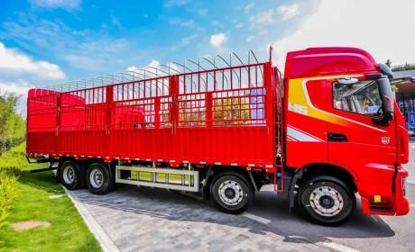 红岩杰狮H6载货车,绿通运输路上好帮手,快来围观!