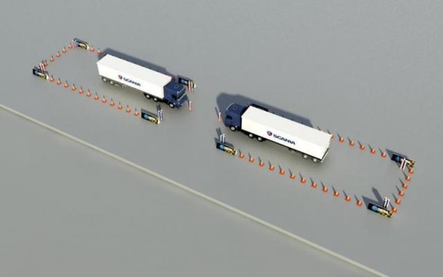 难倒一堆老司机 斯堪尼亚卡车驾驶员大赛遭遇最难总决赛?
