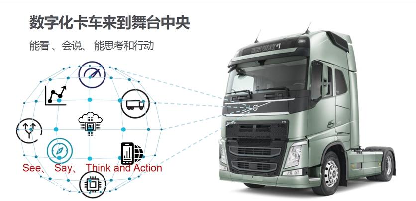 数字化管理+智慧卡车,高效物流时代,沃尔沃卡车的任沃行来了