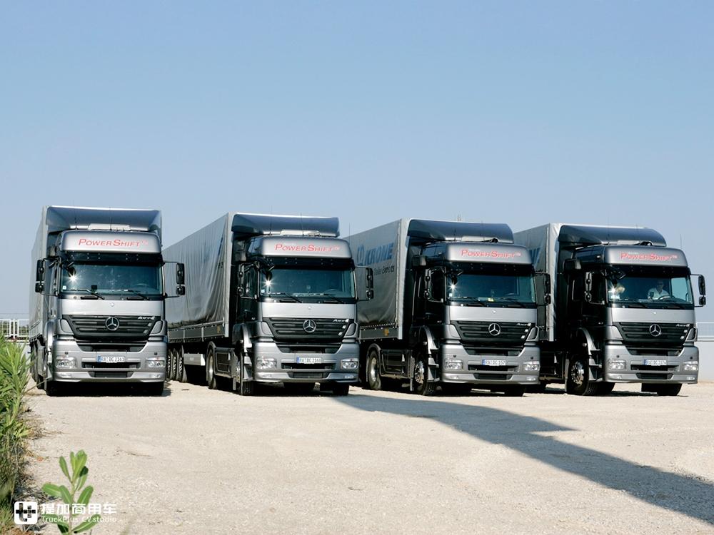 德国奔驰进口卡车_独家| 在国内走量的进口卡车,看配置还没有如今的国产车好,已 ...