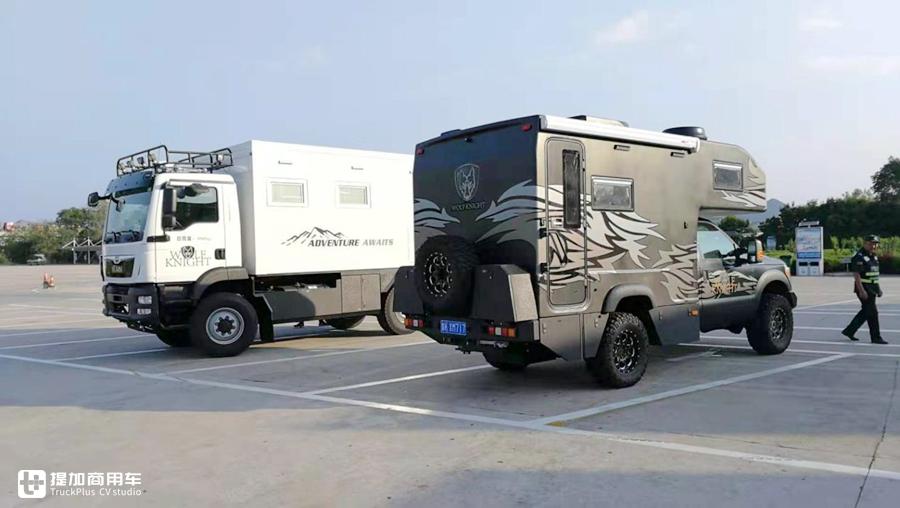 福特f350改装房车_独家  福特F系皮卡底盘打造,整车碳纤维舱体,硬派狼骑士越野 ...