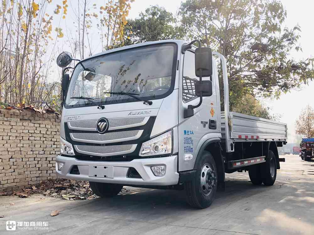 国六156马力发动机,轻卡车身中卡底盘,福田欧马可S1载货车实拍