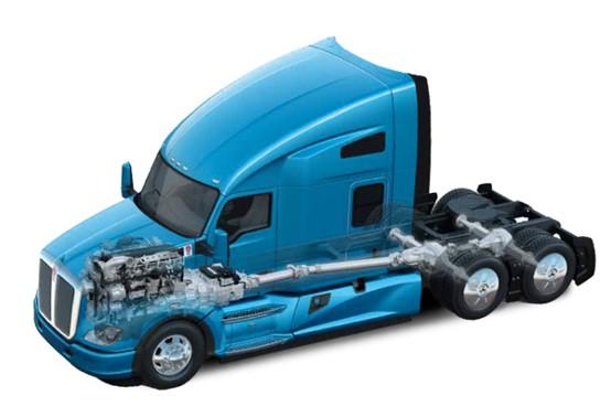 肯沃斯T680美式长头旗舰卡车全新魅力!