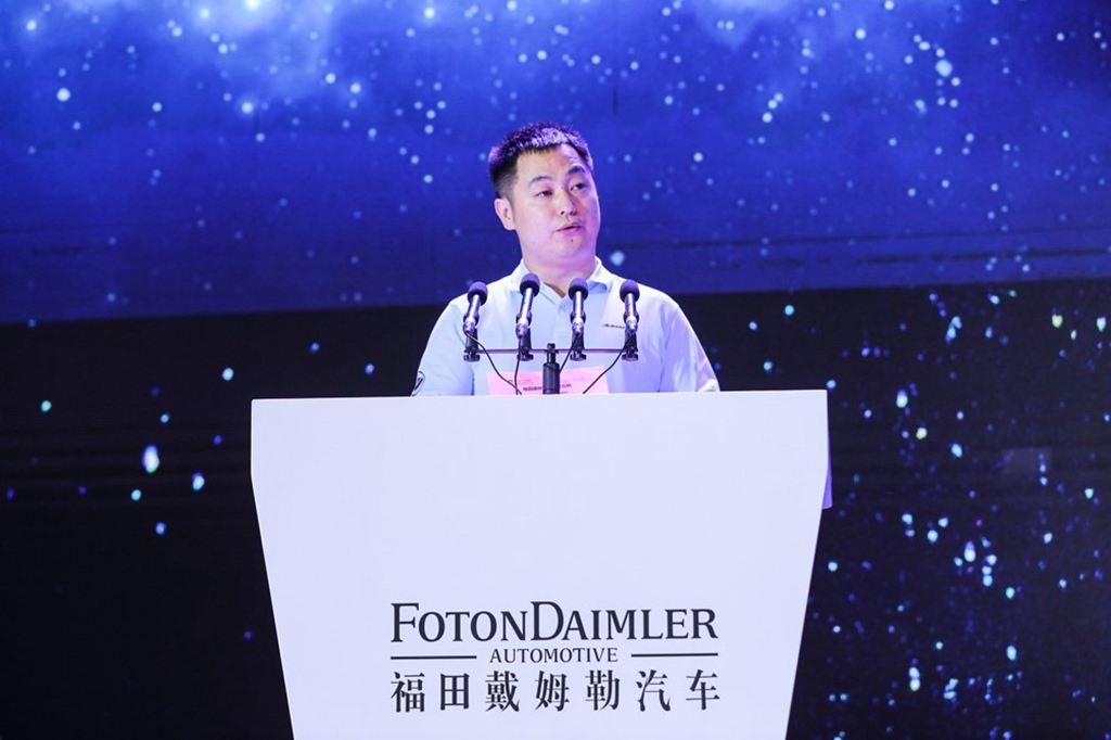 福田康明斯副总经理龚世华先生致辞