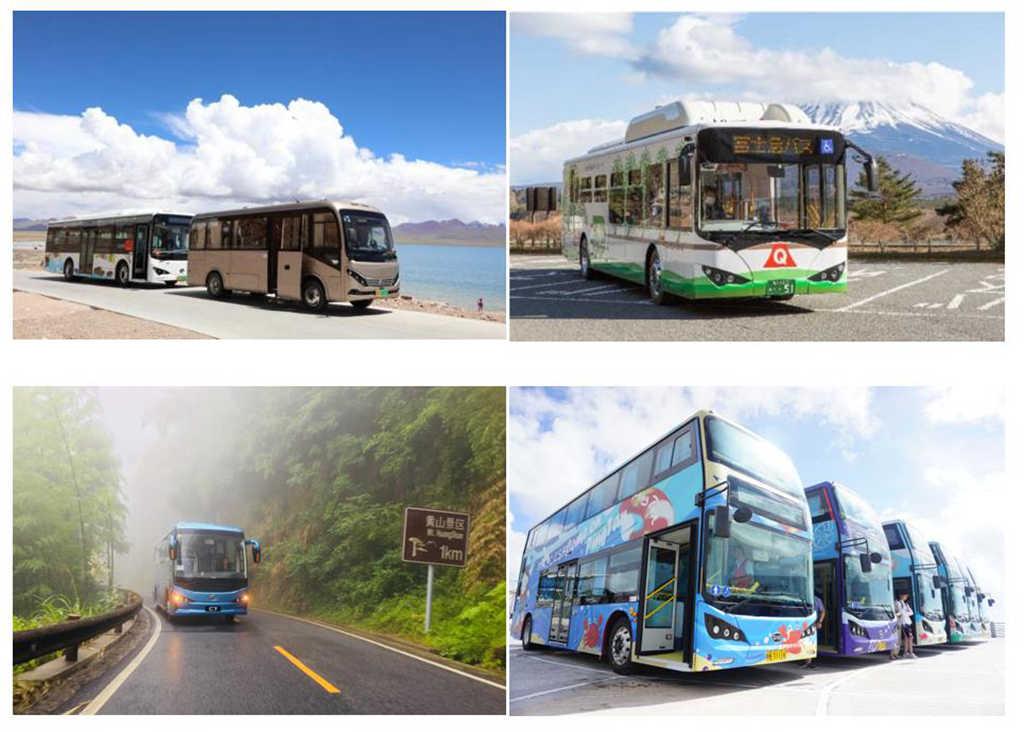 3-4、比亚迪纯电动客车在西藏